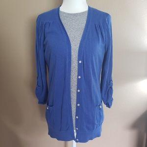 GAP blue cardigan